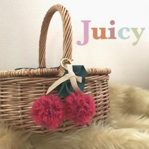 大好きさくらんぼモチーフ Juicy by cocoon+