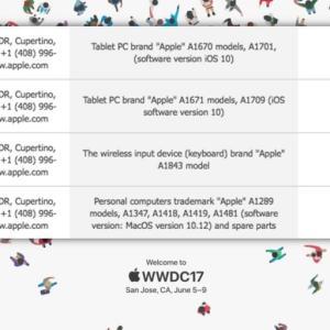 「WWDC2017」で新型「iPad」や新型「Mac」が発表?新型「Magic Keyboard」も発表?