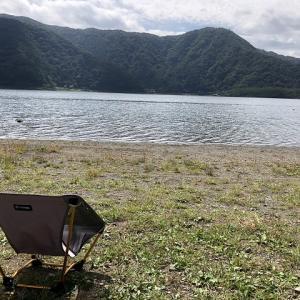 自由を楽しむソロキャンプ。西湖自由キャンプ場