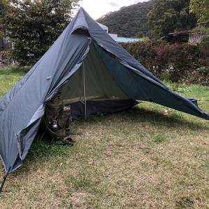 ソロ用軽量ワンポールテント・PANDA LIGHT(パンダ ライト)レビュー