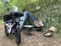 【2021春】東京都檜原村キャンピングガーデン「モク」へツーリングソロキャンプ行ってきた【後編】