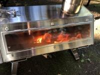 【ハピキャン更新】ロゴス六角薪だんろストーブをレビューしました