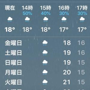雨と偏頭痛
