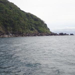 タチウオの状況の確認を兼ねて沖家室島沖に行ってみましたが、惨敗に終わりました。・・・(´;ω;`)ウゥゥ