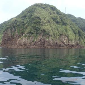 梅雨の合間の晴れ間を狙って平郡島の櫛崎へアジの調査に行ってみました。結果は( ^ω^)・・・