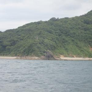南西の風がやや強い予報でしたが、梅雨の間の晴れ間を狙ってタイラバに行ってきました。結果は、〓・・・