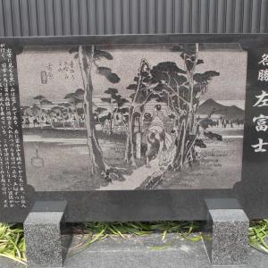 東海道第二弾3日目(1)吉原宿~原宿