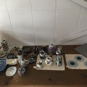 陶器を安全に運ぶための梱包