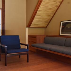 古民家と北欧ヴィンテージ家具の相性は抜群です