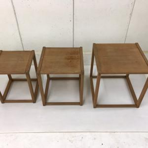 リペア作業日誌53 Nest Table by Borge Mogensen ②