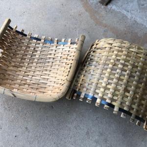 竹箕の製作