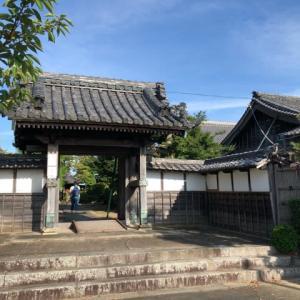 猛暑のお寺参り