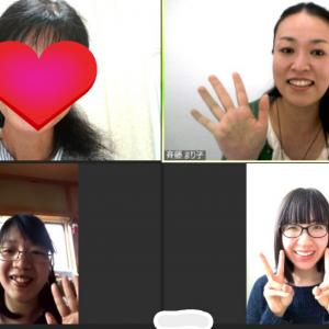 今月2回目のオンラインお茶会を開催致しました。