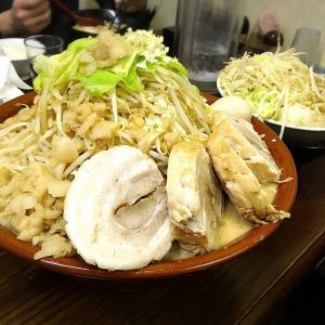 【デカ盛り】貴壱家 富士見市 二郎系メニュー舞豚麺をすり鉢で注文☆予約で食べることができるぞ♪【大食い】
