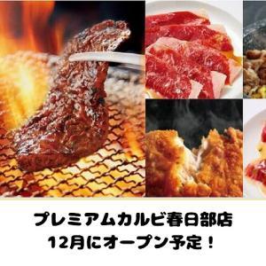 【開店情報】プレミアムカルビ春日部店が12月オープン!焼肉・デザート食べ放題【ビュッフェ】