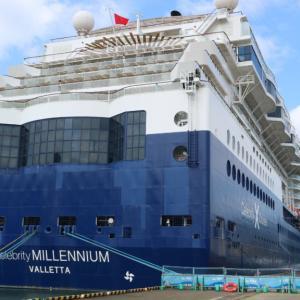 2019セレブリティ・ミレニアム乗船記(14):乗船3日目舞鶴|ヘリパッドでの見学|オーダーオムレツの朝食