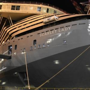 【news】2020年4月初就航ヴァージン・ヴォヤージュ第一船スカーレットレディ
