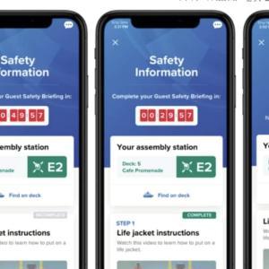 【news】ロイヤルカリビアン グループ従来の安全訓練を廃止へ|eMusterの導入
