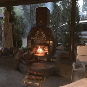 """【キャンプ場より】キャンプ・アンド・キャビンズ """"暖炉"""" DANRO"""