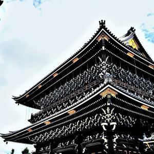 京都【東本願寺】の〖御影堂門〗光景❢❢