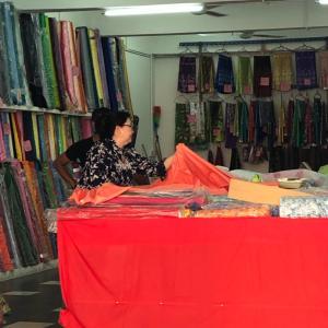 マレーシアの娘の学校からの連絡でいそいで『マレーシアの伝統服』を作りにいった話③