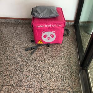 今日のマレーシアでの不幸話⑭フードデリバリーサービス『フードパンダ』を見かけると