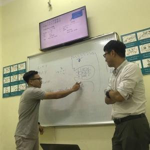 日本語教師たちと「発音」の勉強会