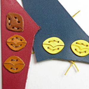 ペンギンのパスケース くちばしの縫い付け検討