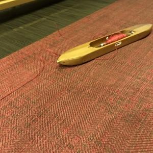 織物教室の様子