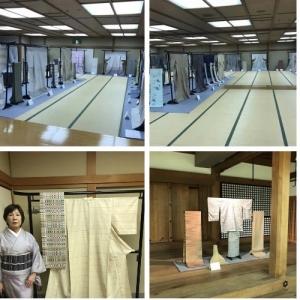 吉田絋三と手織り百人展 無事に終わりました