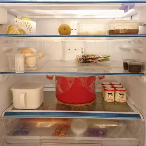 冷蔵庫の在庫とお買い物。