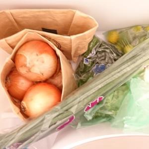 野菜室には紙袋がとても便利。