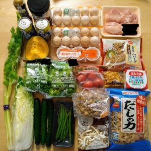 土曜日のお買い物と栗ご飯。