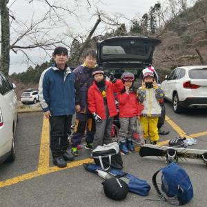 今年初スキー