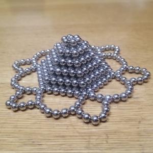 鉄の玉が磁石なヤツを愛娘が創作するとこうなります