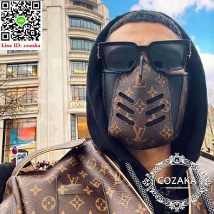 溢れる贅沢感!LV・ルイヴィトン レザーデザインマスクを人気登場!