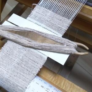 コースター織り始める