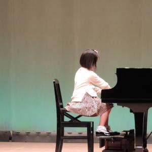 小3Mちゃん、伴奏者に選出される