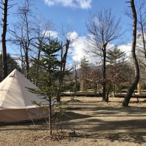 新規開拓キャンプ場に来ましたが、カメラを忘れました!!