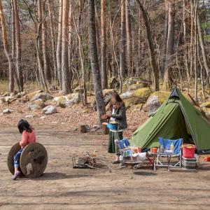 テント破損!男前女子キャンプ@AMNAYU
