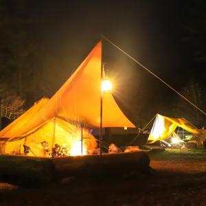 直火を楽しむオーガニックキャンプ@四徳温泉キャンプ場
