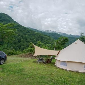 雨飾高原キャンプ場より帰宅しました!