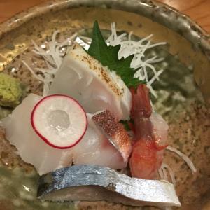美味しい和食屋さんで外飲み。