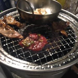 焼肉ランチからの適当晩酌。