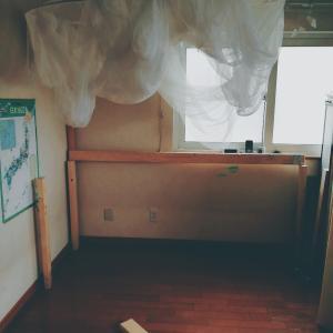 ツーバイフォーでロフトベッドを作りました