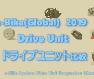 たくさんありすぎ?e-Bike(イーバイク)ドライブユニット2019国内外紹介!