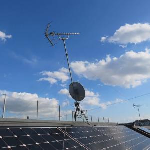 千葉県:船橋市夏見台にて、倒壊アンテナ撤去処分