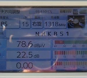 千葉県:八千代市萱田町にて、BSアンテナ追加混合工事