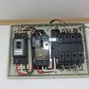 千葉県:船橋市飯山満町にて、分電盤交換他リフォームにおける改修工事