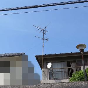 千葉県:船橋市芝山にて、既存アナログアンテナ撤去処分へ